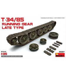 1:35 T-34/85 Running Gear. Late Type