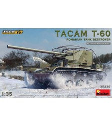 1:35 Tacam T-60 Romanian Tank Destroyer. Interior Kit