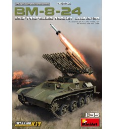 1:35 BM-8-24 Self-Propelled Rocket Launcher. Int. Kit