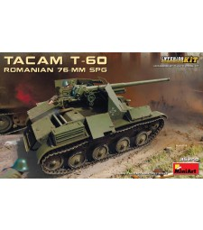 1:35 Romanian 76-mm SPG Tacam T-60 Interior Kit