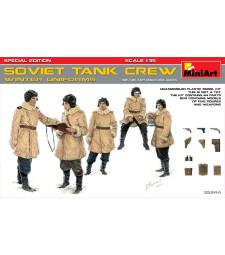 1:35 Soviet Tank Crew (Winter Uniforms) - Special Edition - 5 figures