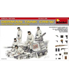 1:35 German Tank Crew (Winter Uniforms) - SpecialEdition - 5 figures