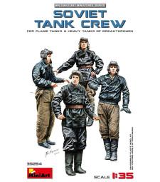 1:35 SOVIET TANK CREW (for Flame Tanks & Heavy Tanks of Breakthrough) - 5 figures