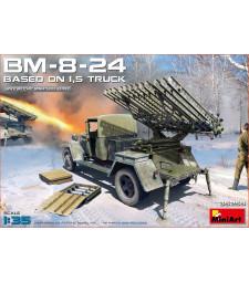 1:35 BM-8-24 Based on 1,5t Truck