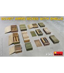 1:35 Soviet Ammo Boxes w/Shells