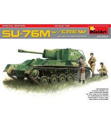 1:35 SU-76M w/Crew Special Edition