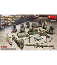 1:35 Panzerschreck RPzB.54 & Ofenrohr RPzB.43 Set