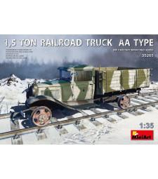 1:35 1,5 Ton Railroad Truck AA Type