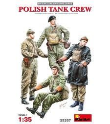1:35 Polish Tank Crew - 4 figures