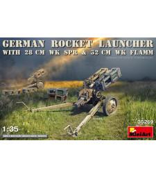 1:35 German Rocket Launcher with 28cm WK Spr & 32cm WK Flamm