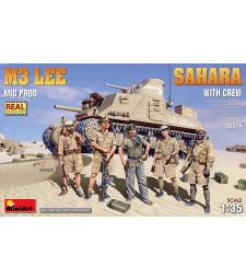 1:35 M3 Lee Mid Prod. Sahara with Crew
