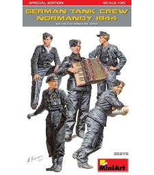 1:35 German Tank Crew ( Normandy 1944 ) Special Edition - 5 figures