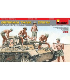 "1:35 German Tank Crew ""Afrika Korps"", Special Edition - 5 figures"
