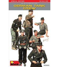 1:35 German Tank Crew. Special Edition - 6 figures
