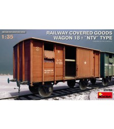 1:35 Railway Covered Goods Wagon 18 t NTV-Type