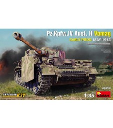 1:35 Pz.Kpfw.IV Ausf. H Vomag.  Early Prod. (May 1943) Interior Kit