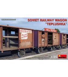 1:35 Soviet Railway Wagon Teplushka