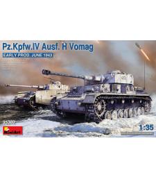 1:35 Pz.Kpfw.IV Ausf. H Vomag. Early Prod. (June 1943)