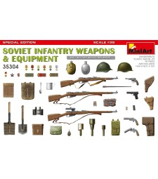1:35 Soviet Infantry Weapons and Equipment. Spec. Ed.