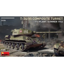 1:35 T-34-85 Composite Turret. 112 Plant. Summer 1944