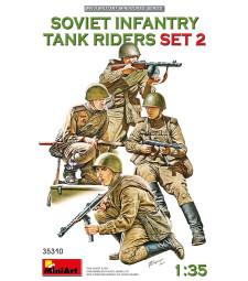 1:35 SOVIET INFANTRY TANK RIDERS SET 2
