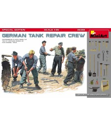 1:35 German Tank Repair Crew. Special Edition - 5 figures