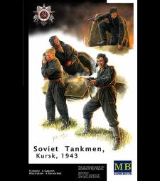 1:35 Russian Tank Crew, Kursk, 1943 - 4 figures