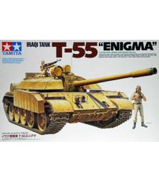 """1:35 Iraqi Tank T-55 """"Enigma"""" - 1 figure"""