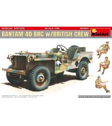 1:35 Bantam 40 BRC w/British Crew. Special Edition