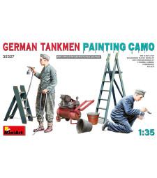 1:35 German Tankmen. Painting  Camo