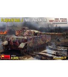 1:35 Pz.Kpfw.IV Ausf. J Nibelungenwerk. Mid Prod. (Sep-Nov 1944) Interior Kit