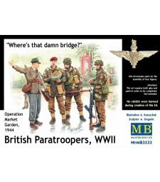 1:35 British paratroopers, 1944. Kit 1 - 4 figures