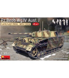 1:35 Pz.Beob.Wg.IV Ausf. J Late/Last Prod. 2 in 1 w/Crew
