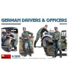 1:35 German Drivers & Officers