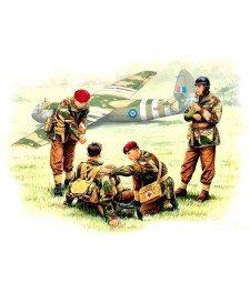 1:35 British paratroopers, 1944. Kit 2  - 4 figures