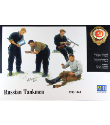 1:35 Russian tankmen, 1943-1944 - 4 figures