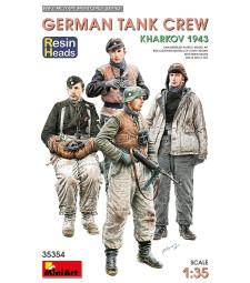 1:35 German Tank Crew.Kharkov 1943. Resin Heads