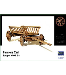 1:35 Farmer's Cart, Europe, WWII Era
