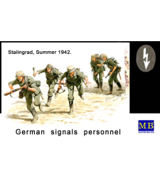 1:35 German Signals Personnel, Stalingrad, 1942 - 5 figures