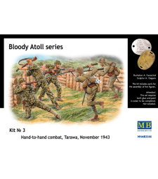1:35 Bloody Atoll series. Kit No 3, Hand-to-hand combat, Tarawa, November 1943 - 5 figures