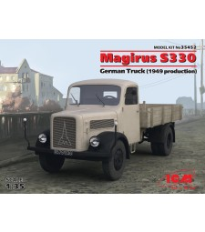 1:35 Magirus S330 German Truck (1949 production) (100% new molds – 2016)