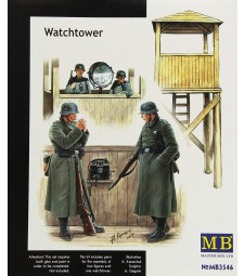 1:35 Watch tower - 4 figures