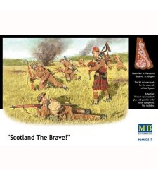 1:35 Scotland The Brave! - 4 figures