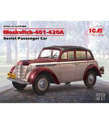 1:35 Moskvitch-401-420A, Soviet Passenger Car