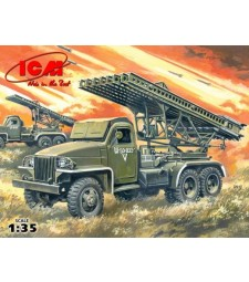 1:35 BM-13-16N WWII Soviet Multiple Launch Rocket System