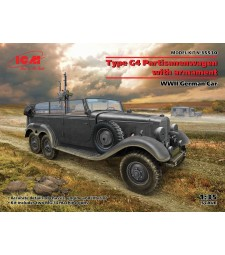 1:35 G4 with armament, WWII German Car