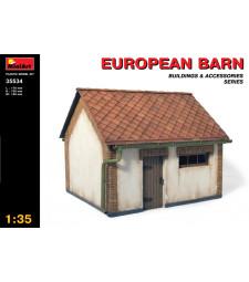 1:35 European Barn