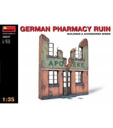 1:35 German Pharmacy Ruin
