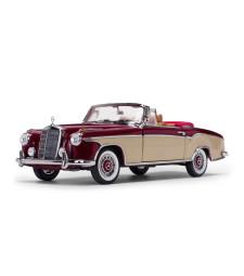 1958 Mercedes-Benz 220 SE Open Convertible - Red / Cream