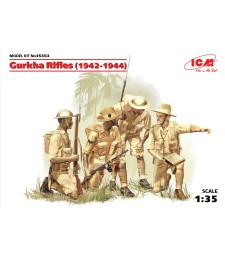 1:35 Gurkha Rifles (1944) (4 figures)